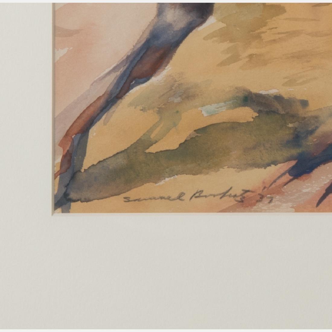 Samuel Bookatz (1910-2009) Untitled, Watercolor, - 2
