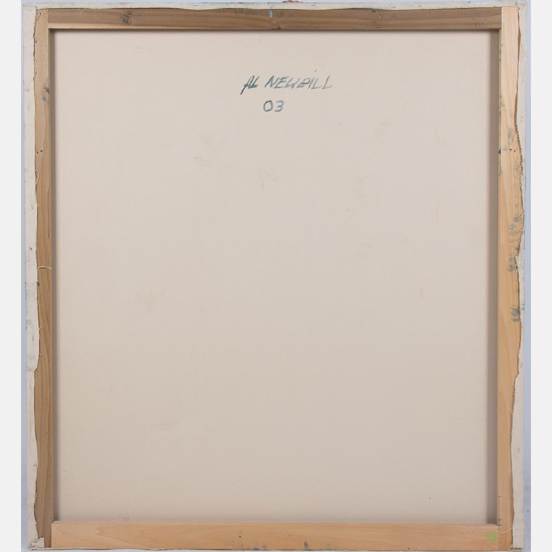 Al Newbill (1921-2012) Untitled, Oil on canvas, - 2