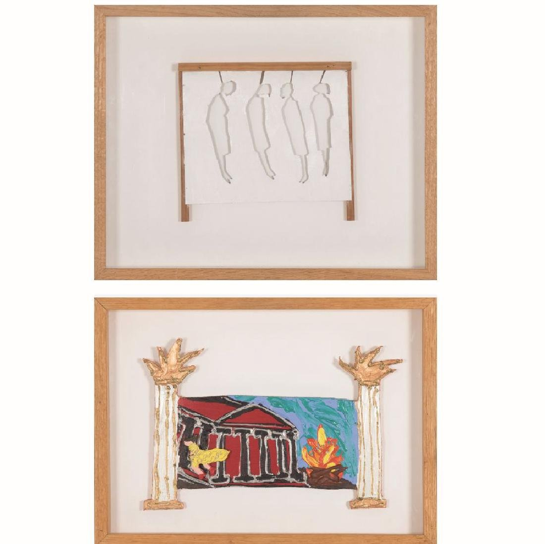 Two Contemporary Artworks by Various Artists, 20th