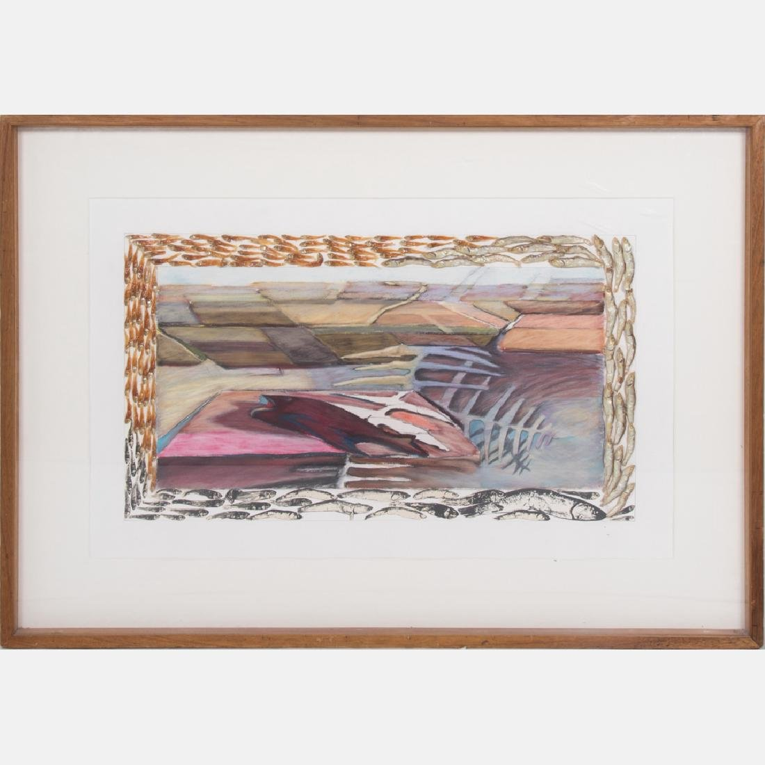 Nina B. Marshall (American, b. 1953) Fish on Raft, ca.