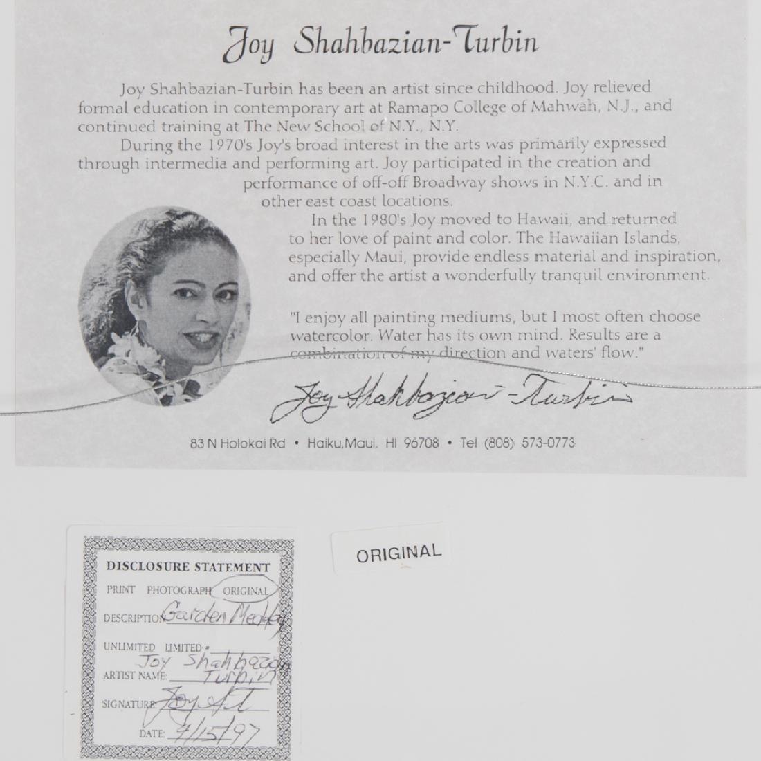 Joy Shahbazian-Turbin (20th Century) Two Tropical - 4