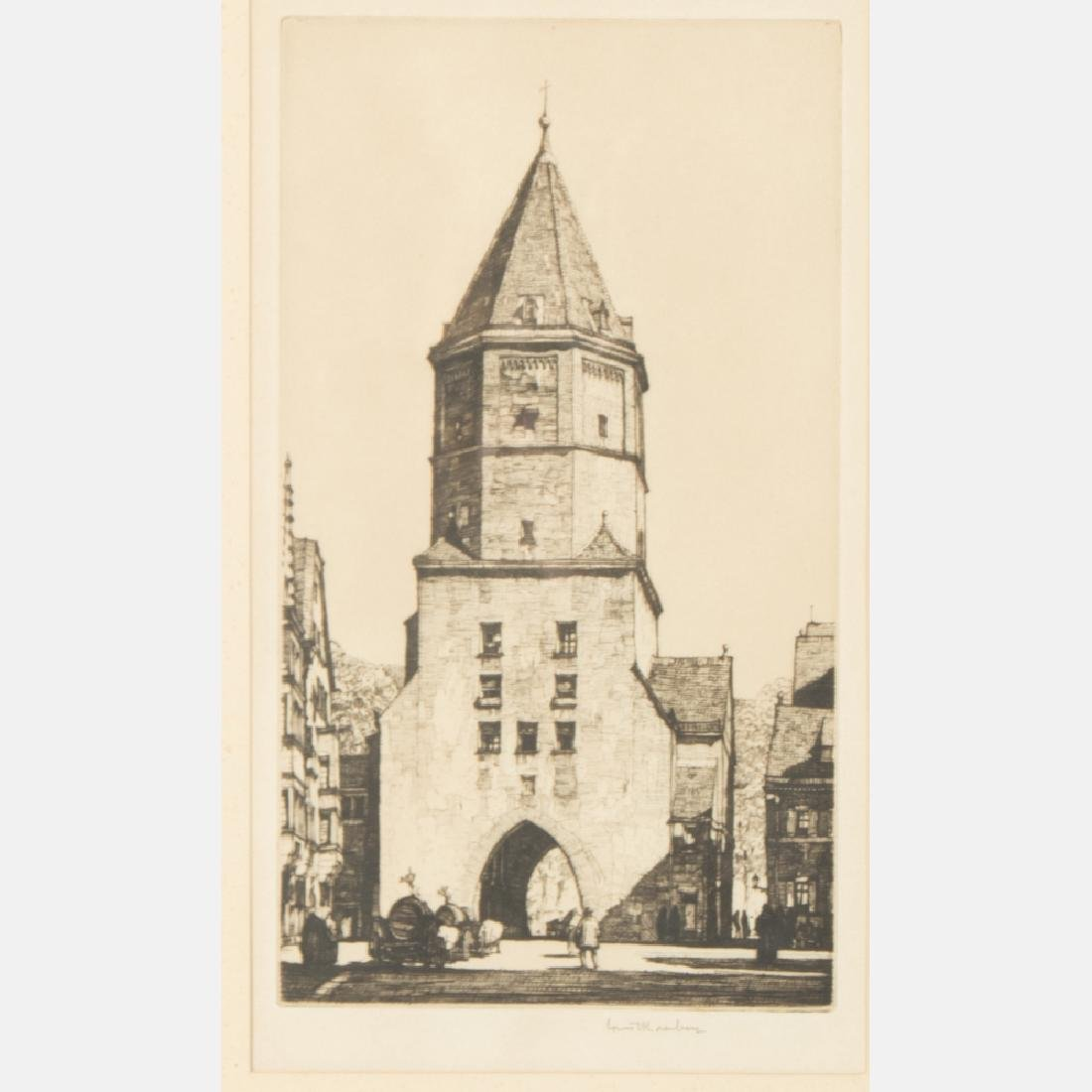 A Group of Three Etchings by Various Artists, 19th/20th - 3
