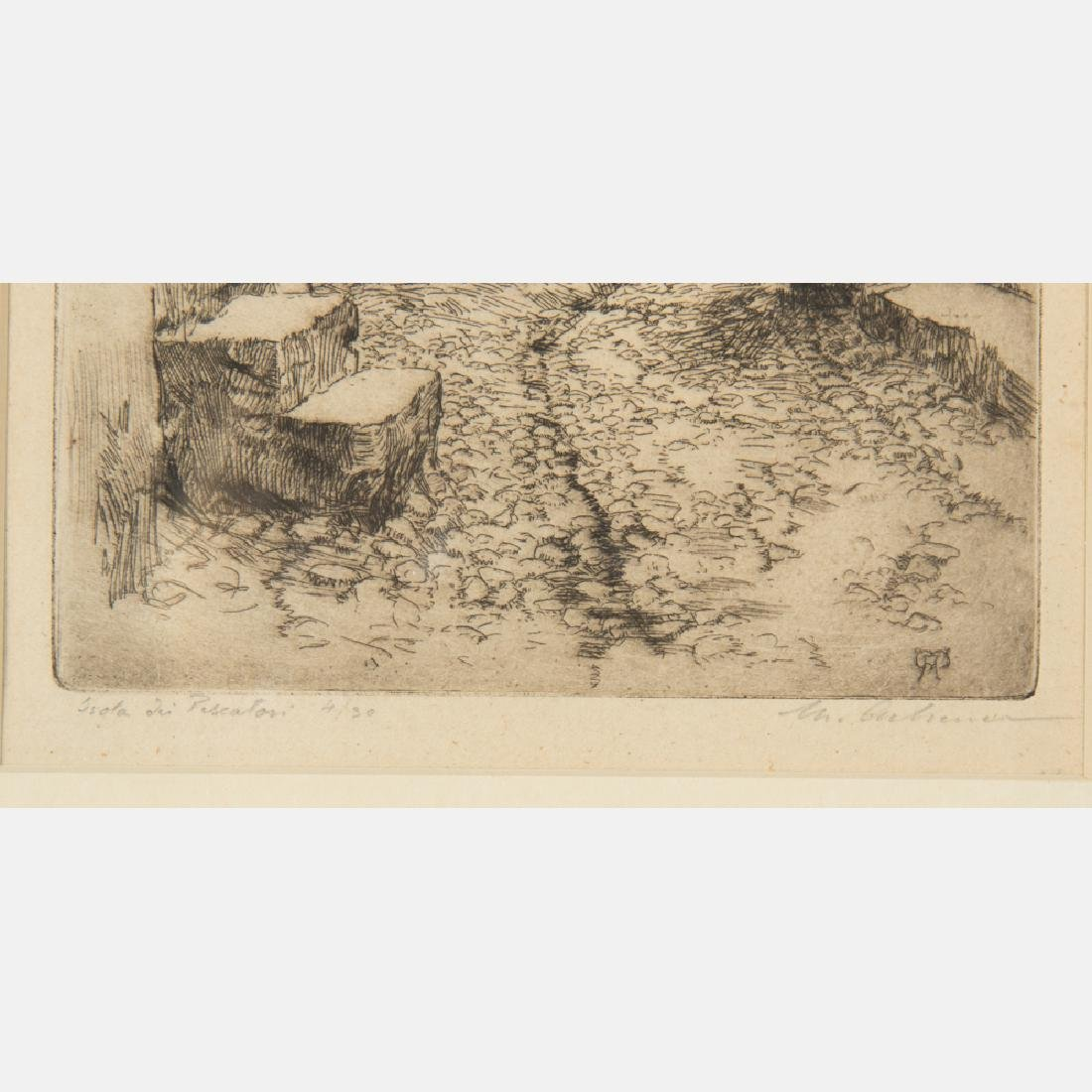 A Group of Three Etchings by Various Artists, 19th/20th - 7