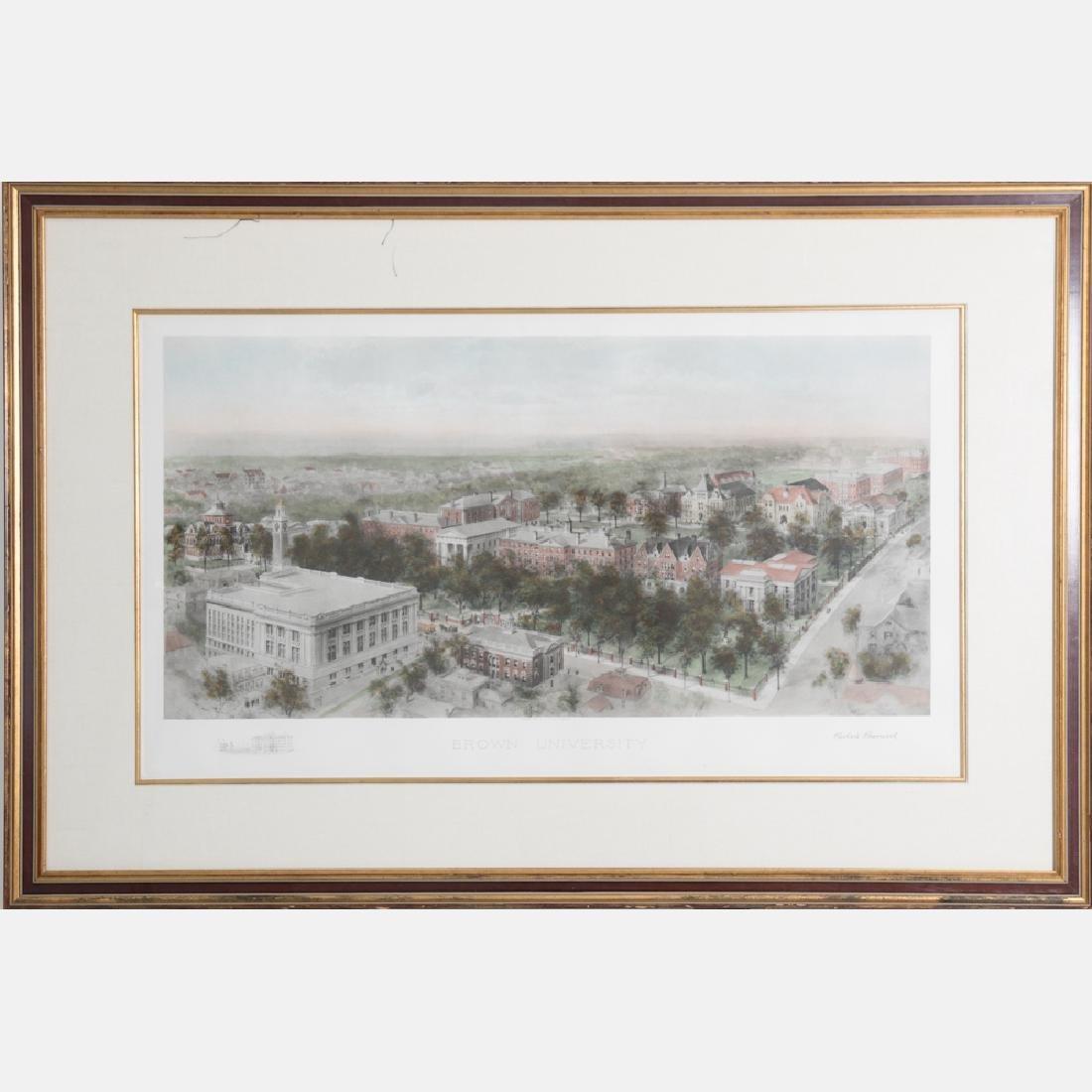 Richard Rummell (1848-1924) Brown University, Hand