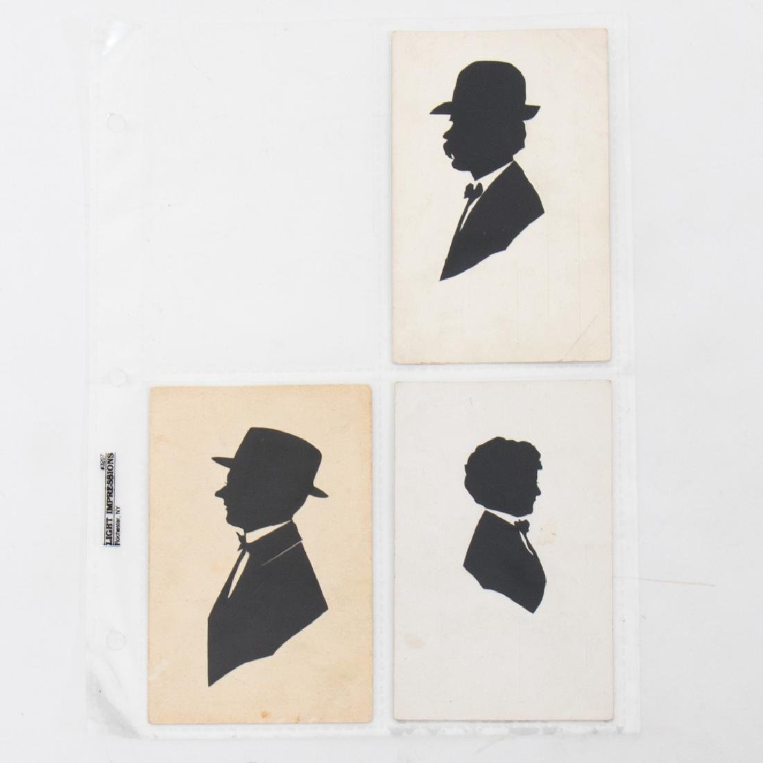 A Collection of Twenty-Five Cut Paper and Ink - 2