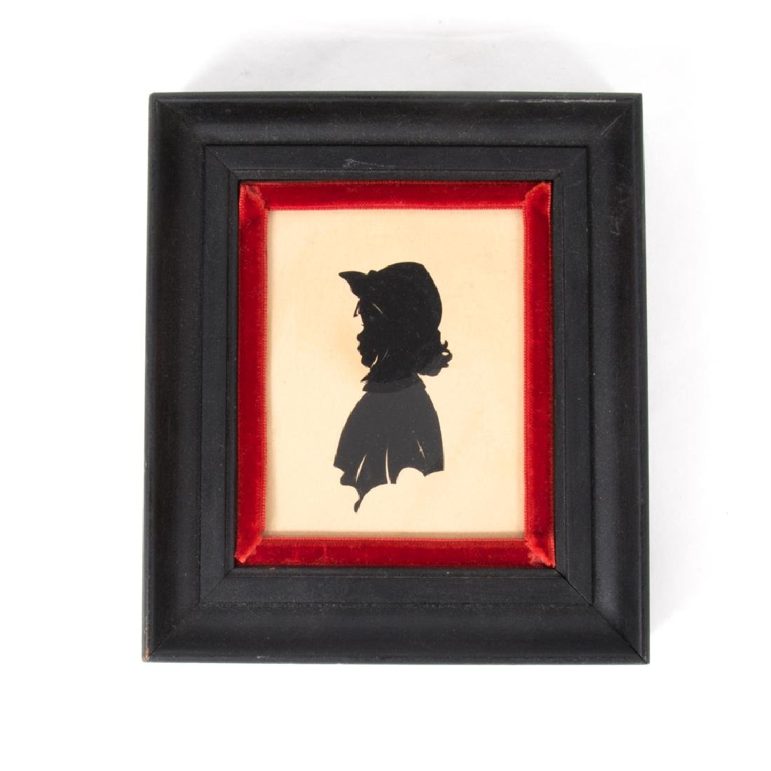 A Collection of Twenty Cut Paper Silhouettes Depicting - 2