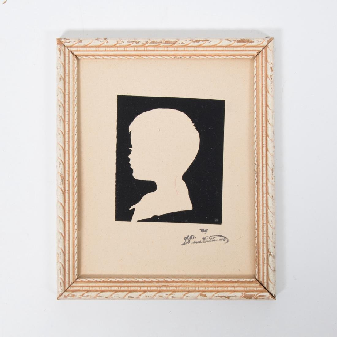 A Collection of Sixteen Cut Paper Silhouettes Depicting - 2