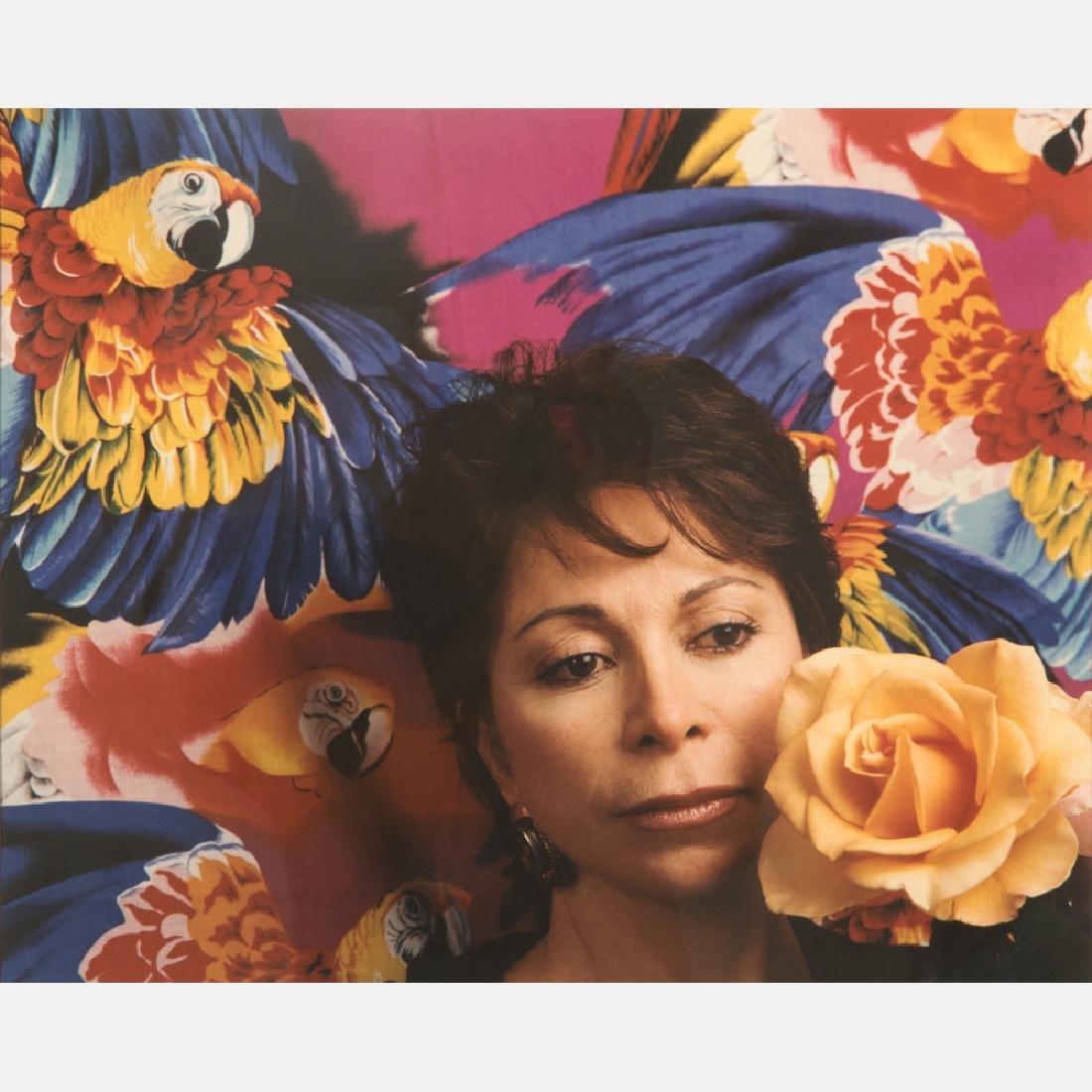 Abe Frajndlich (b. 1946) Isabel Allende, S. Rafael, ca.