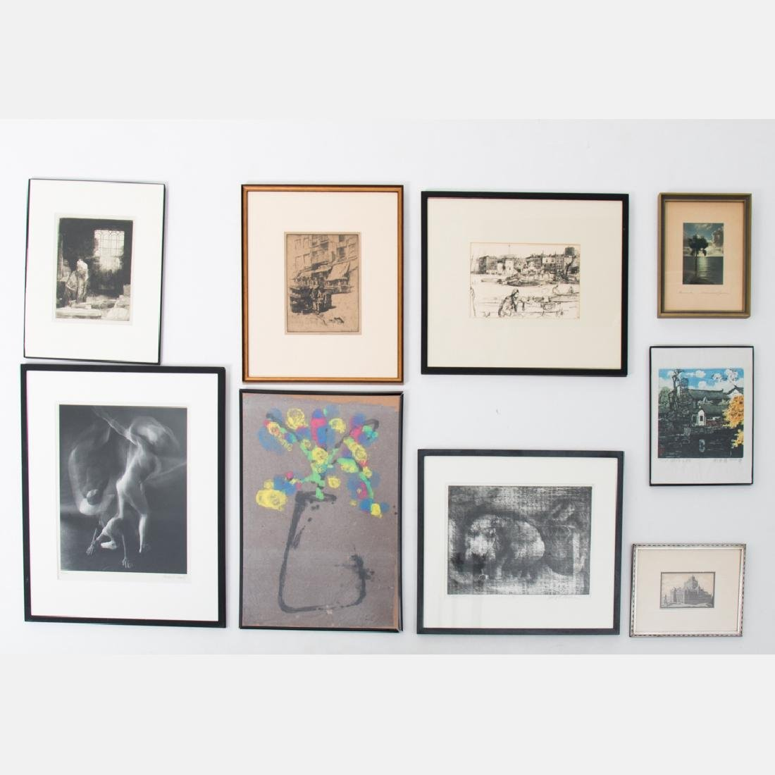 A Collection of Framed Decorative Prints and Photograph