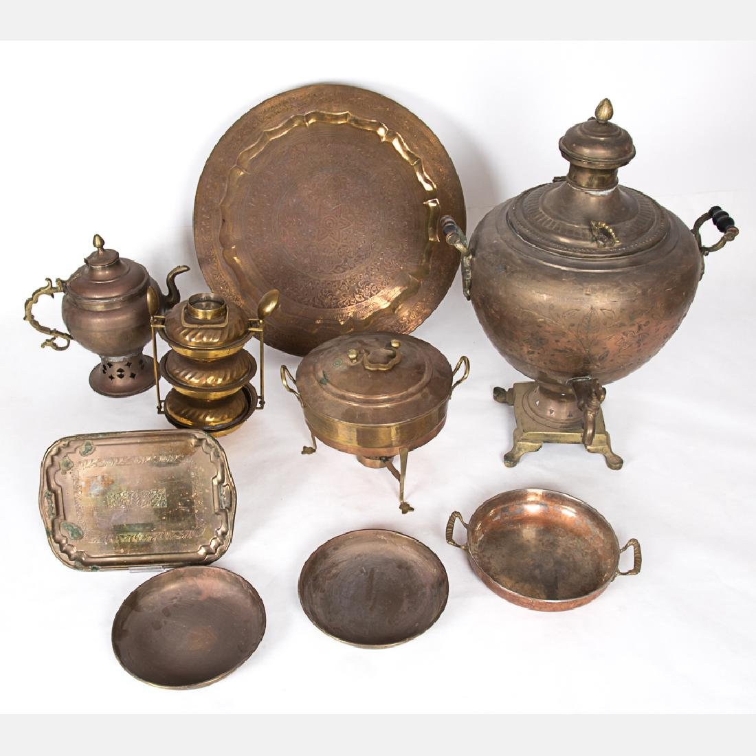 A Miscellaneous Collection of Persian Coppered and