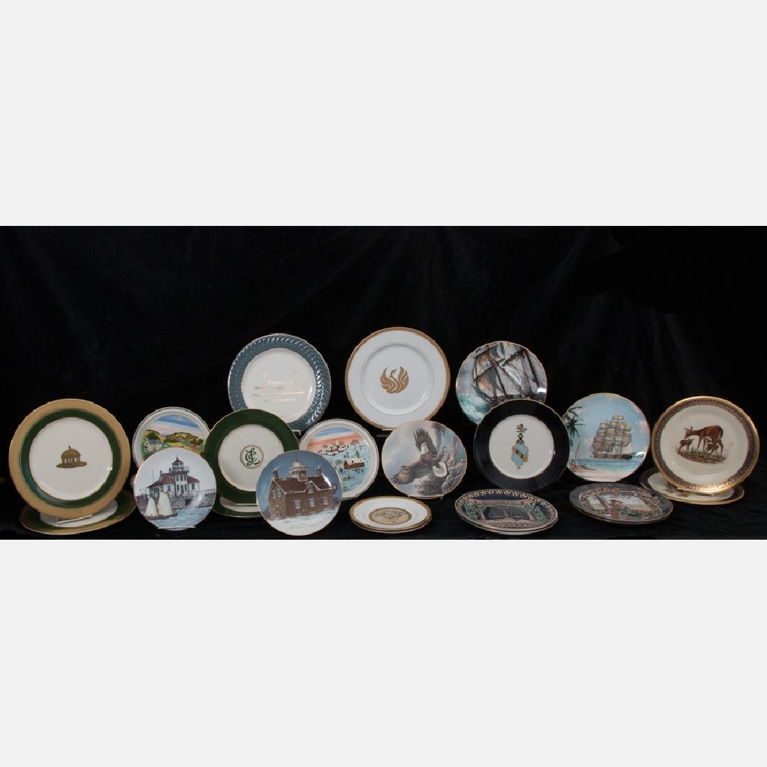 A Miscellaneous Collection of Porcelain and Brass