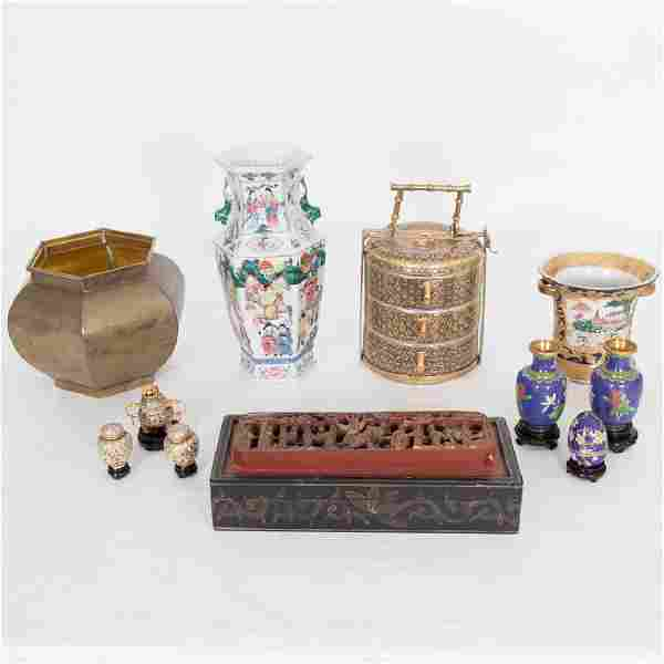 A Miscellaneous Collection of Chinese Cloisonné,
