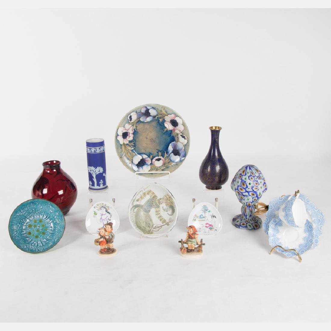 A Miscellaneous Collection of Ceramic, Glass and