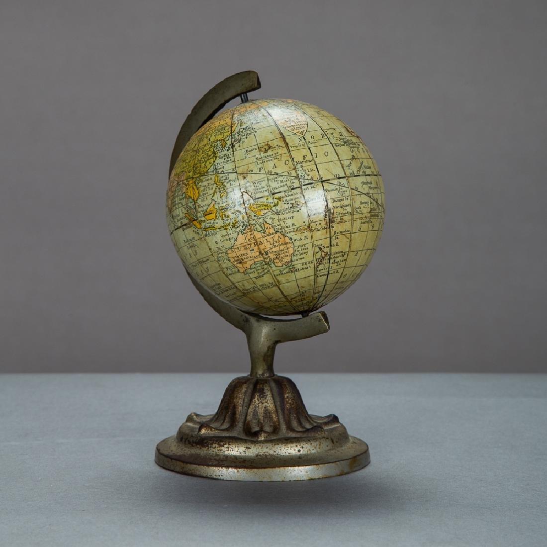 A Rand McNally 3-inch Terrestrial Globe by Rand McNally