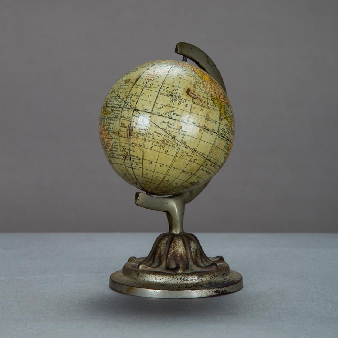 A Rand McNally 3-inch Terrestrial Globe by Rand McNally - 2