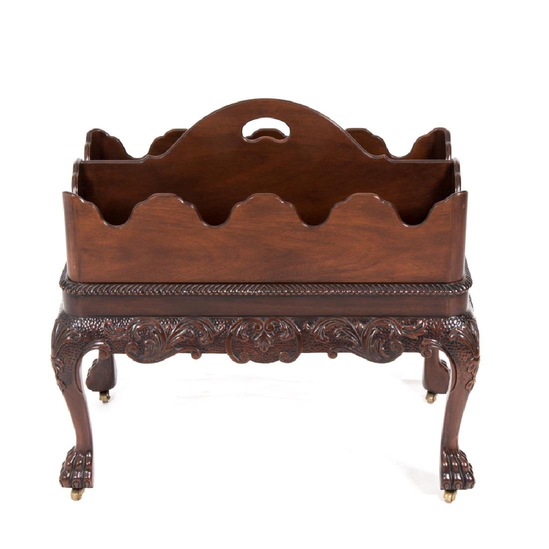 A Baker Furniture Georgian Style Carved Mahogany - 2