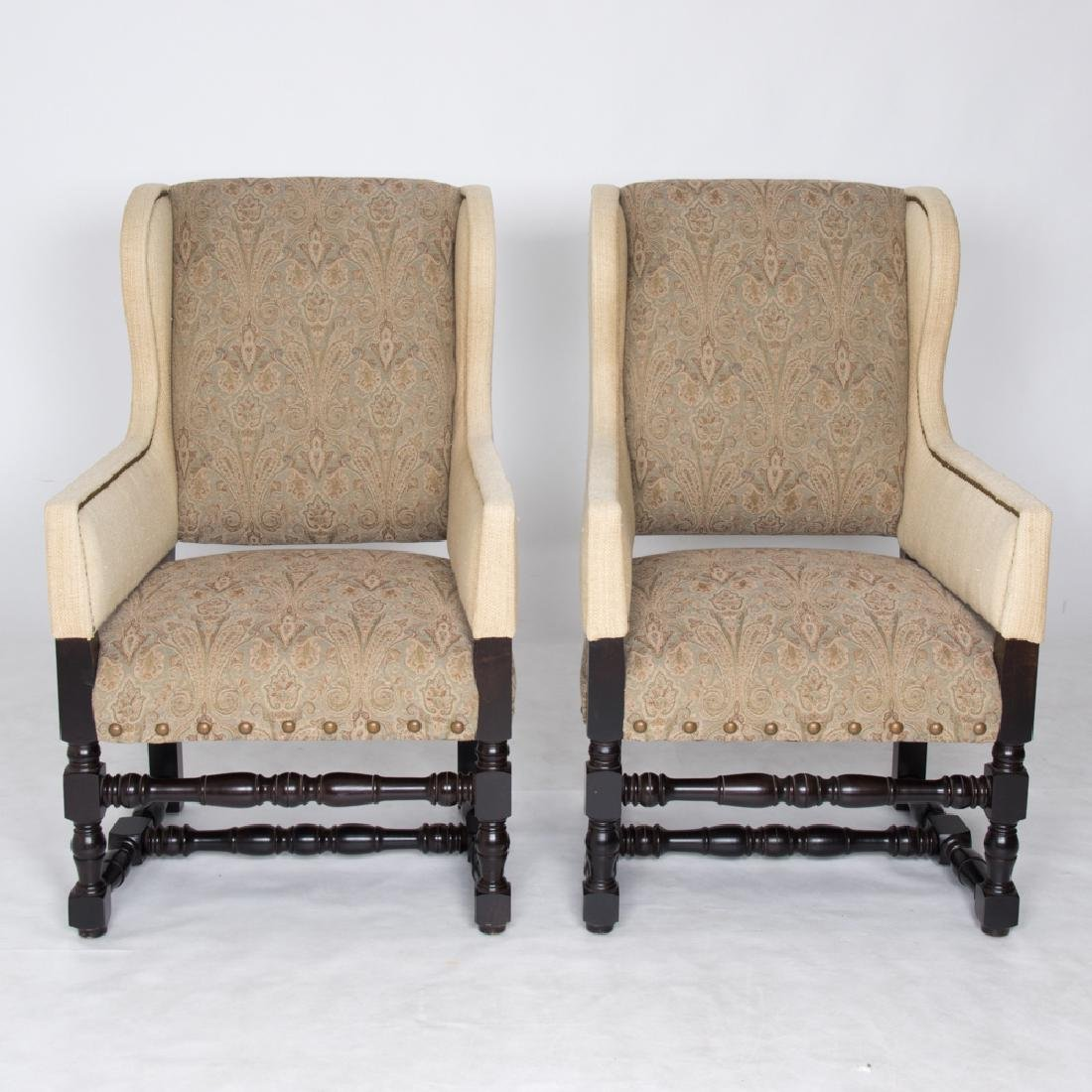 A Pair of Contemporary William and Mary Style