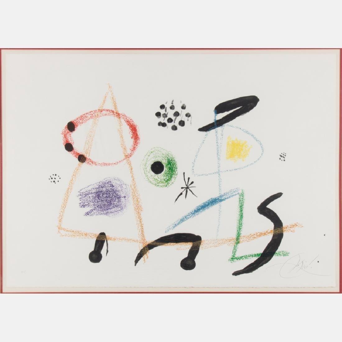 Joan Miro (1893-1983) Maravillas con Variaciones