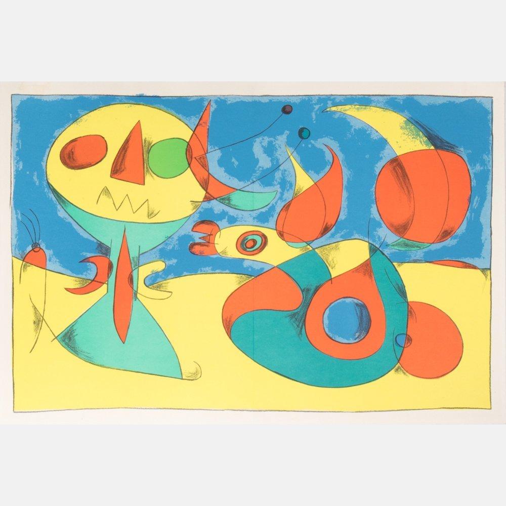 Joan Miro (1893-1983) Zephir Vogel - Zephyr Bird, 1956,