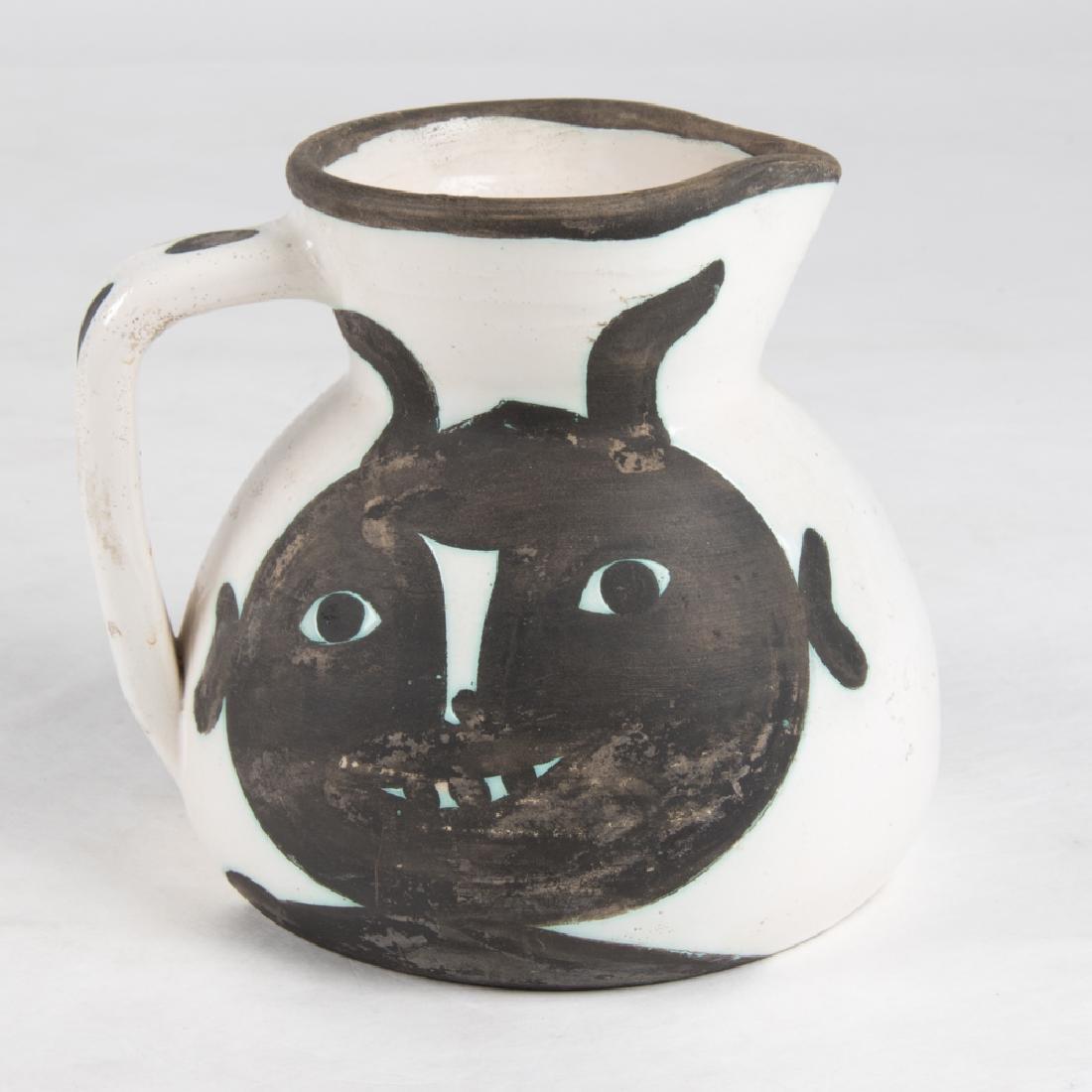 Pablo Picasso (1881-1973) Pichet Tetes, 1956, White