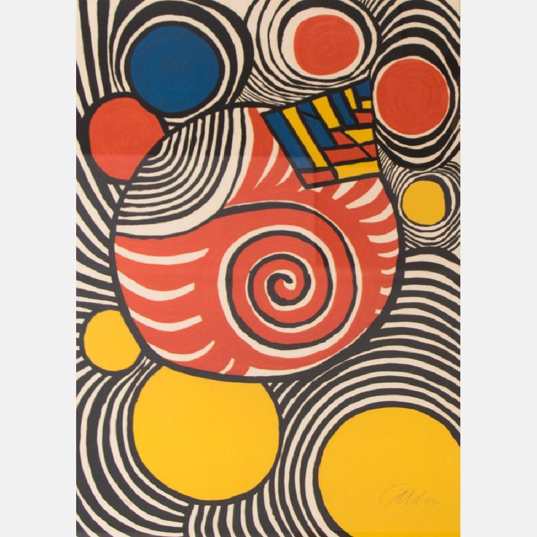 Alexander Calder (1898-1976) Clown, Lithograph,