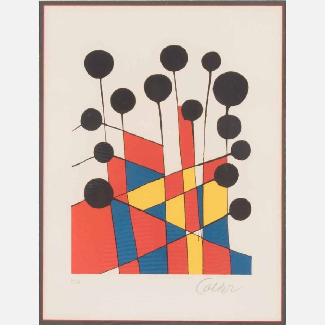 Alexander Calder (1898-1976) Balloons, 1971,