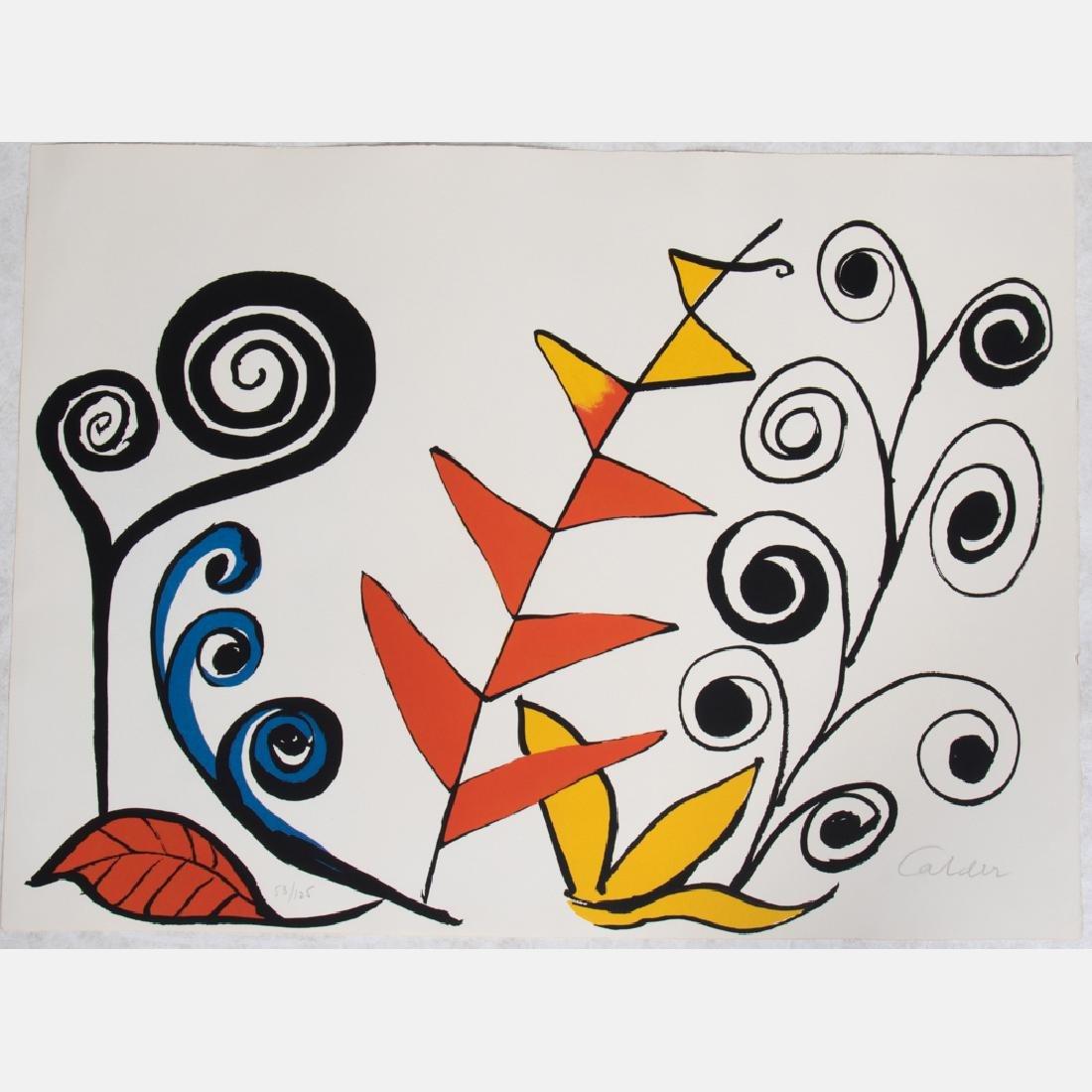 Alexander Calder (1898-1976) Le Jardin Fantastique,