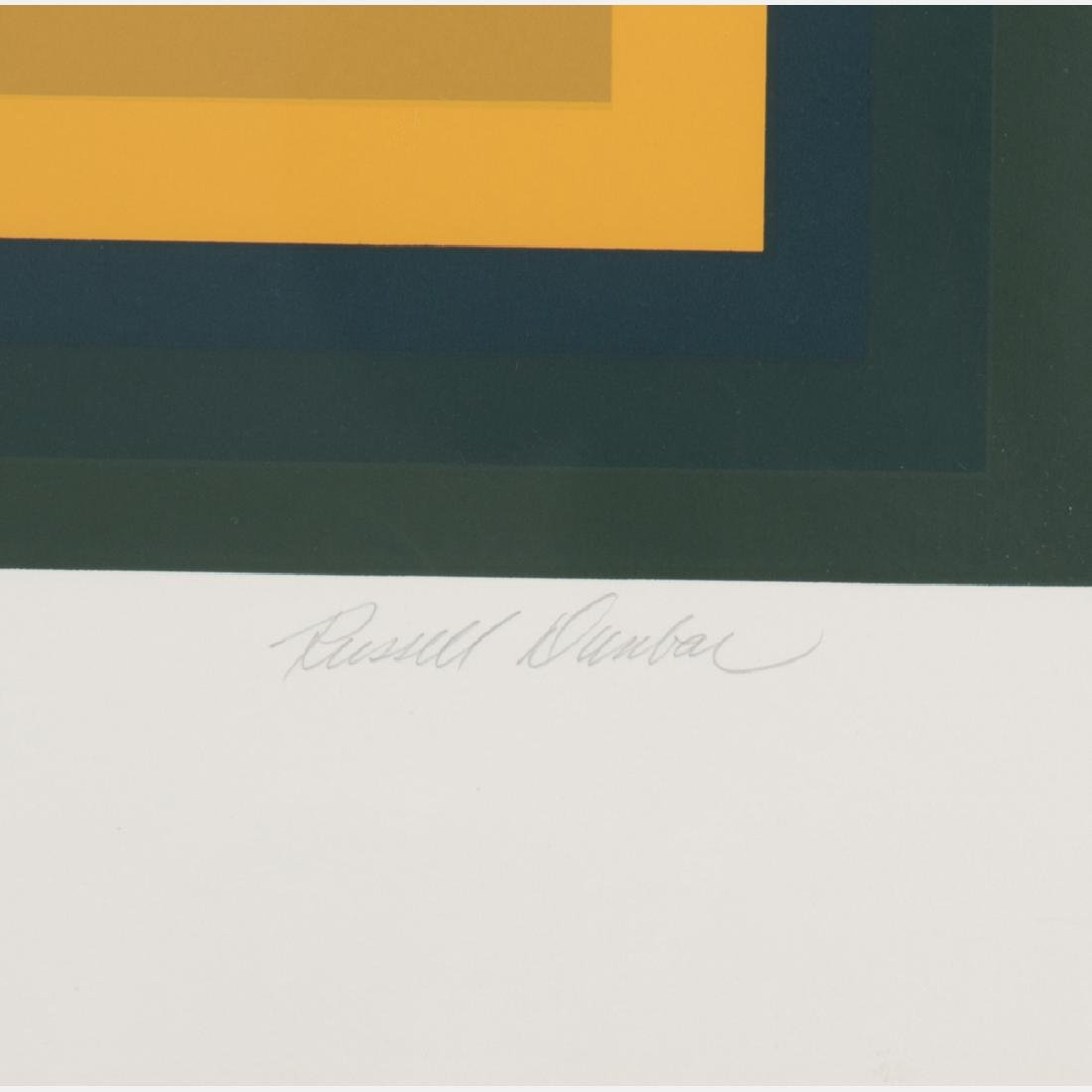 Russell Dunbar (b. 1927) Untitled, Silkscreen, - 4