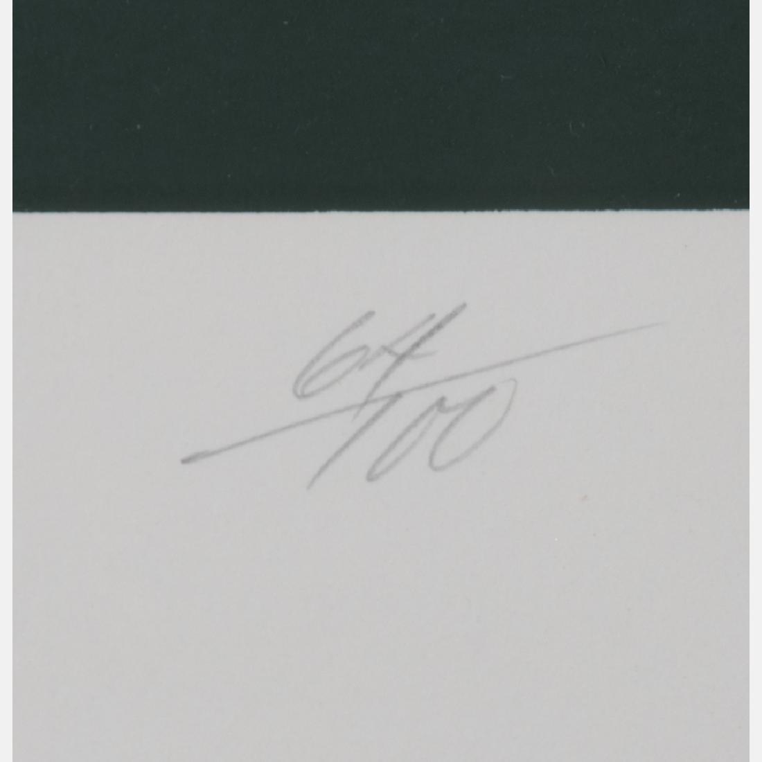 Russell Dunbar (b. 1927) Untitled, Silkscreen, - 5