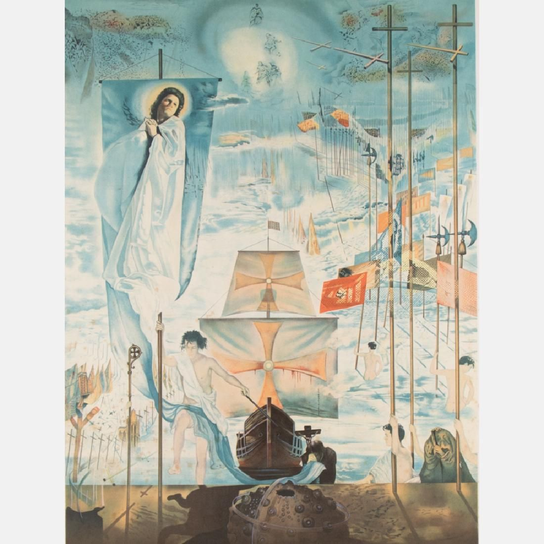 Salvador Dali (1904-1989) Discovery of America by