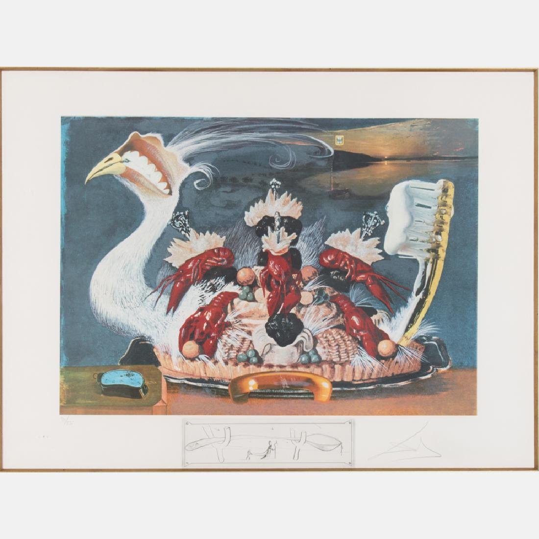 Salvador Dali (1904-1989) Les Montres Molles 1/2