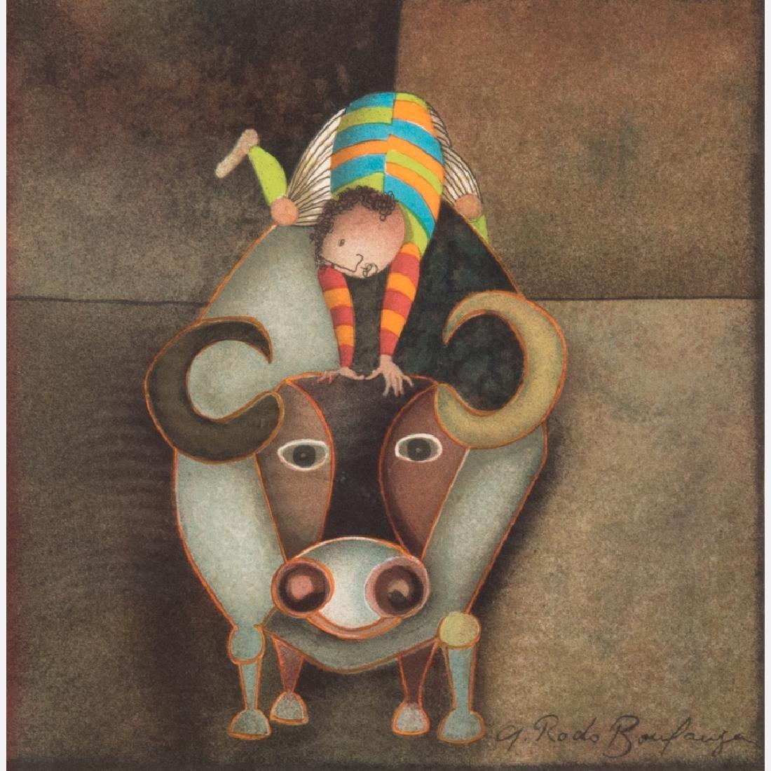 Graciela Rodo Boulanger (b. 1935) Untitled (Bull),