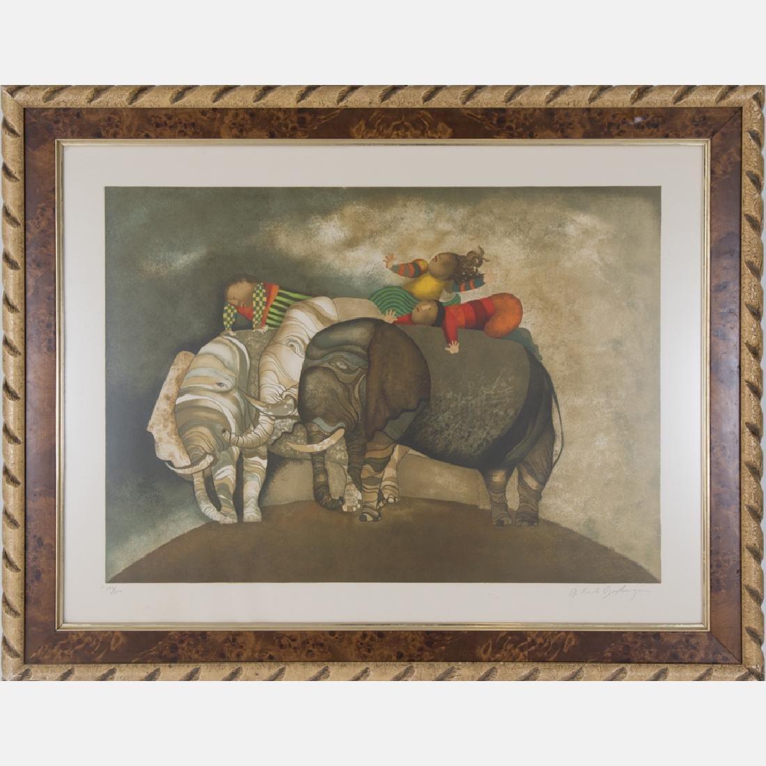 Graciela Rodo Boulanger (b. 1935) Trois Elephants,