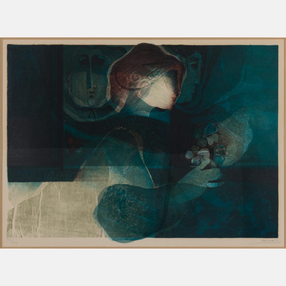 Alvar Sunol Munoz Ramos  (b. 1935) Untitled,