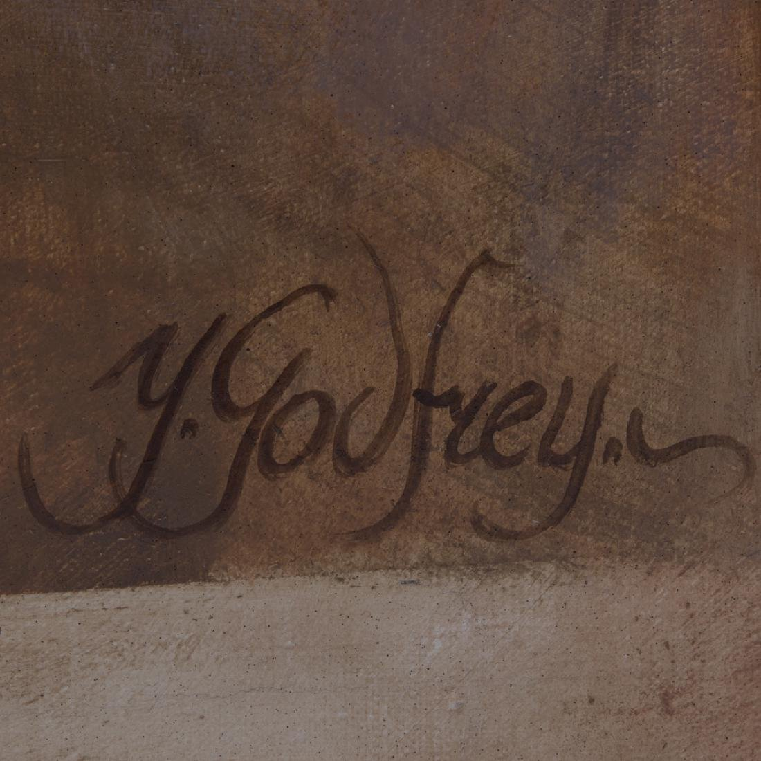 Yarek Godfrey (b. 1957) Female Nude, Oil on canvas. - 2