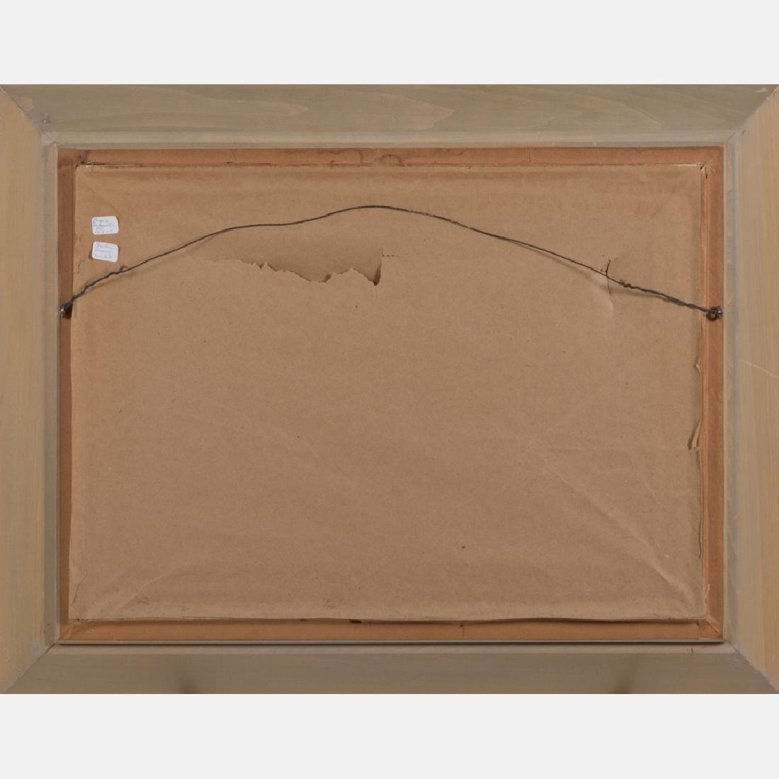 Eugene Demester (b. 1914) Market Scene, Oil on canvas, - 4