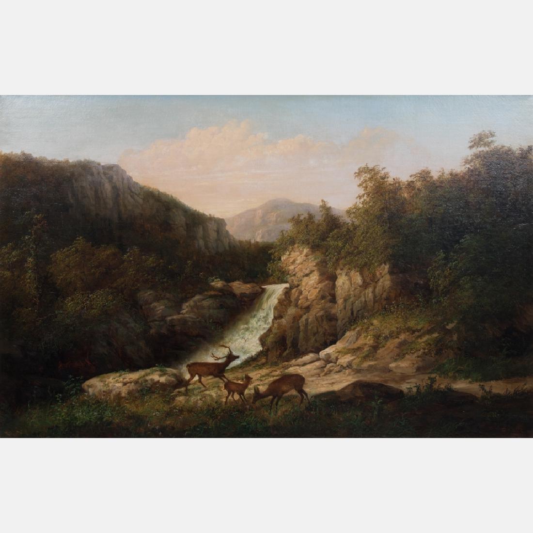 William Anthony Frerichs (1829-1905) North Carolina, - 2
