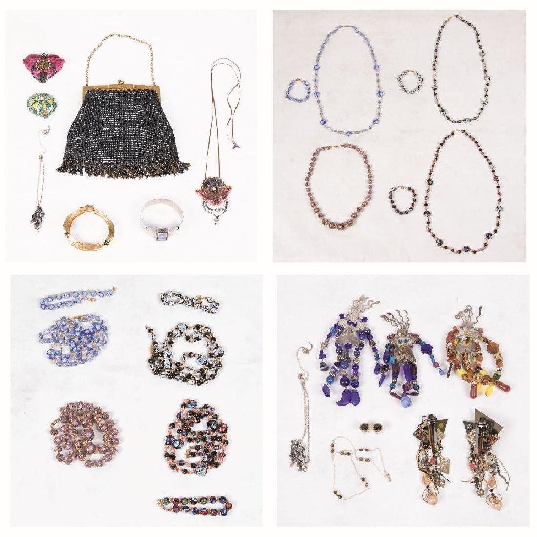 A Miscellaneous Collection of Costume Jewelry.