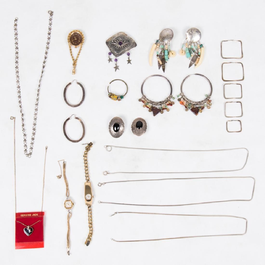 A Miscellaneous Collection of Silver and Silver Plated