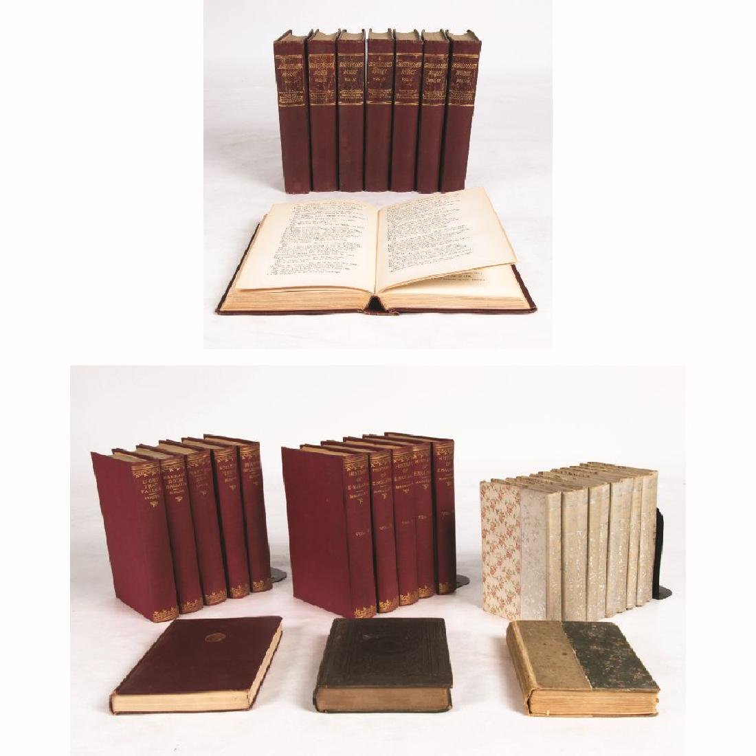 A Miscellaneous Collection of Decoratively Bound Books,
