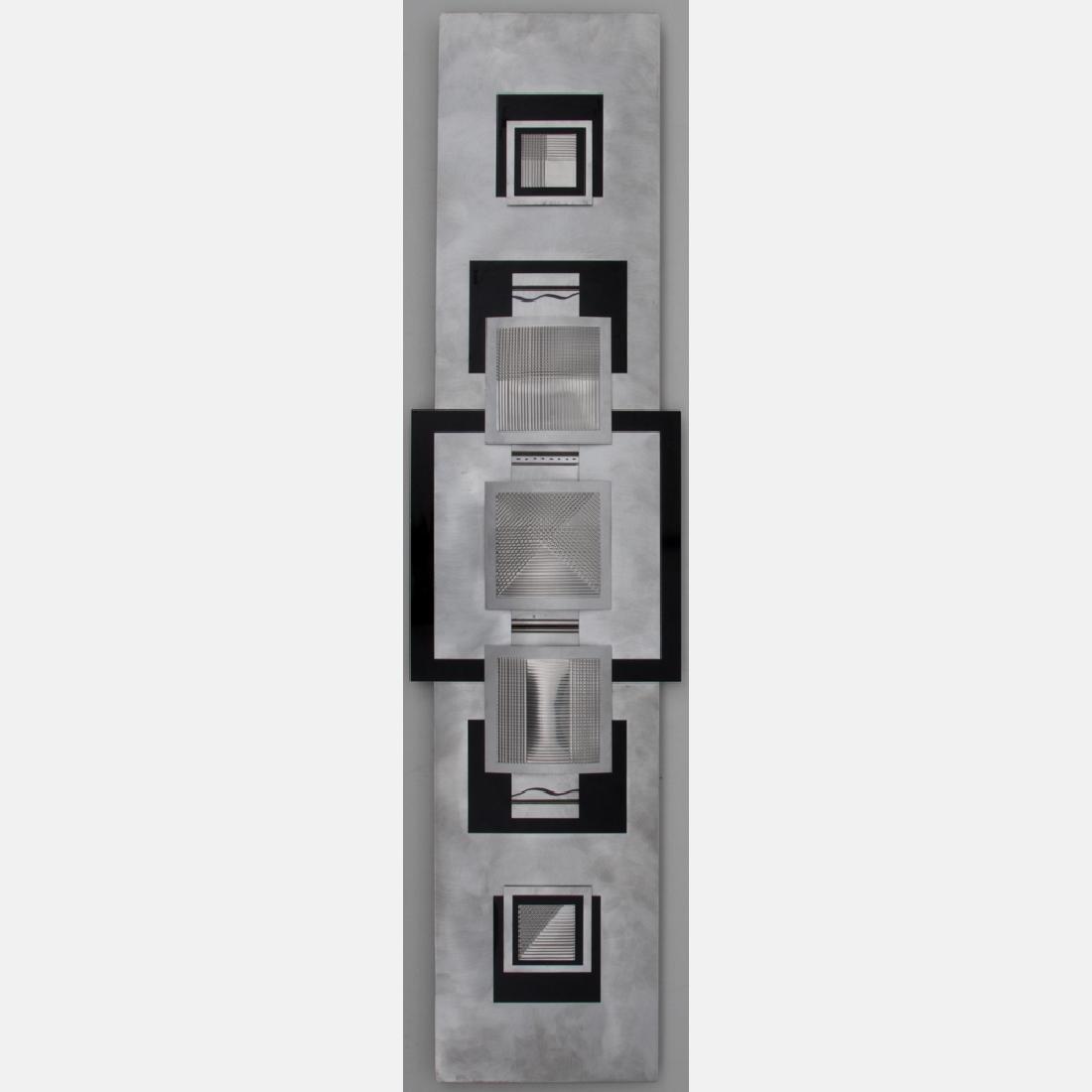 Jon Allen (20th Century) Untitled, Aluminum, laminate