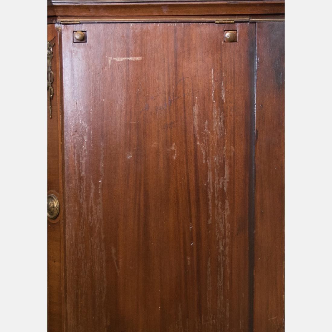 An English Mahogany Bar Cabinet, Early 20th Century. - 4