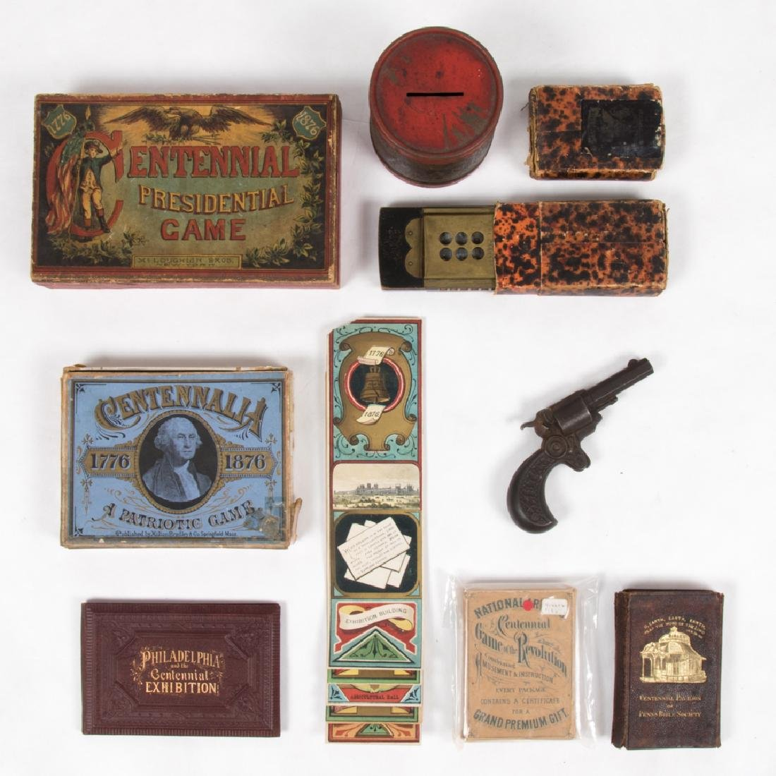 A Miscellaneous Collection of Souvenirs and Games from