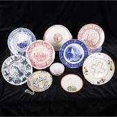 A Miscellaneous Collection of Ceramic Souvenir Plates