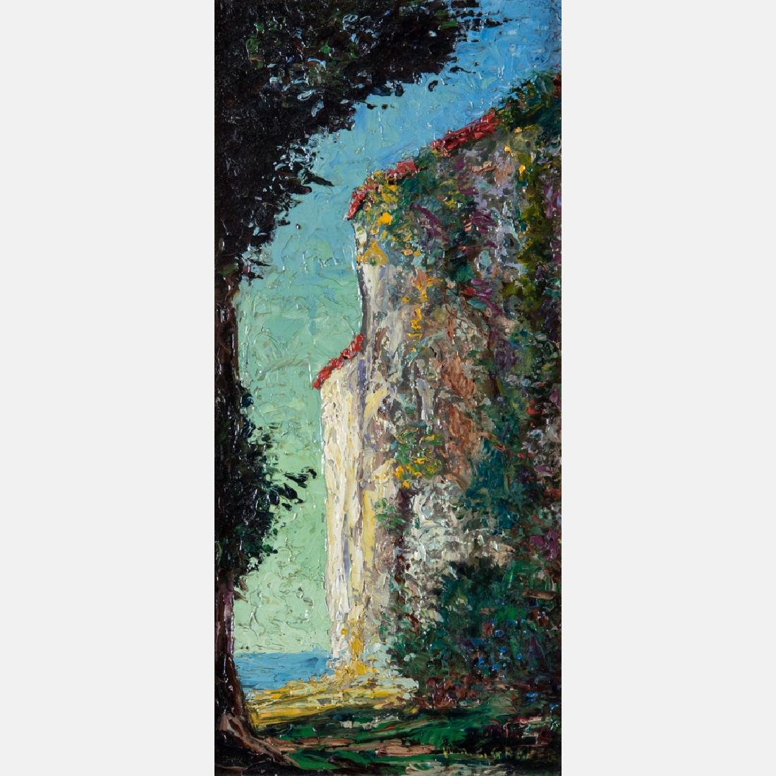 William C. Grauer (1896-1985) Landscape, Oil on board,