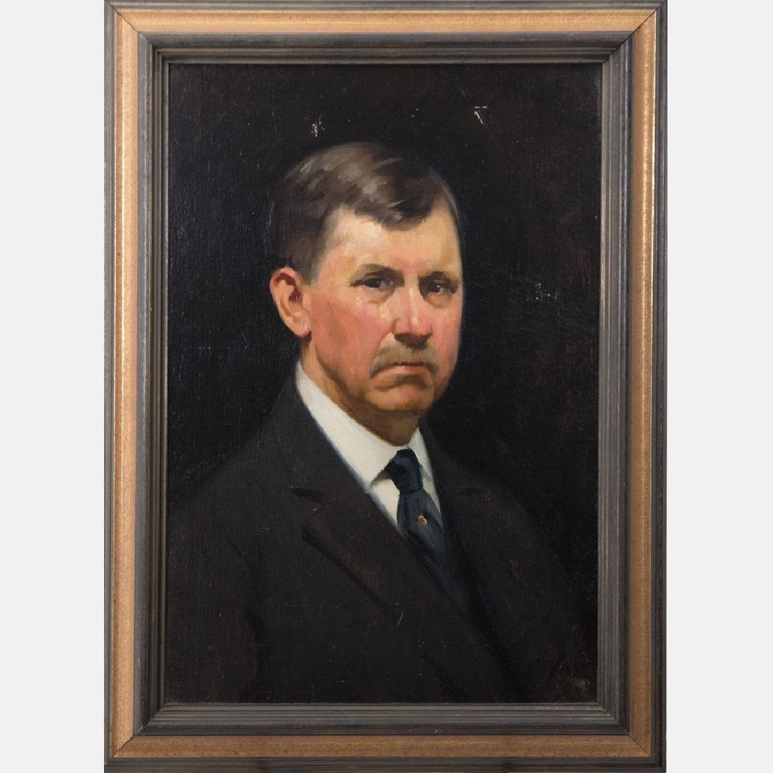 Herman Henry Wessel (1878-1969) Portrait of Frank