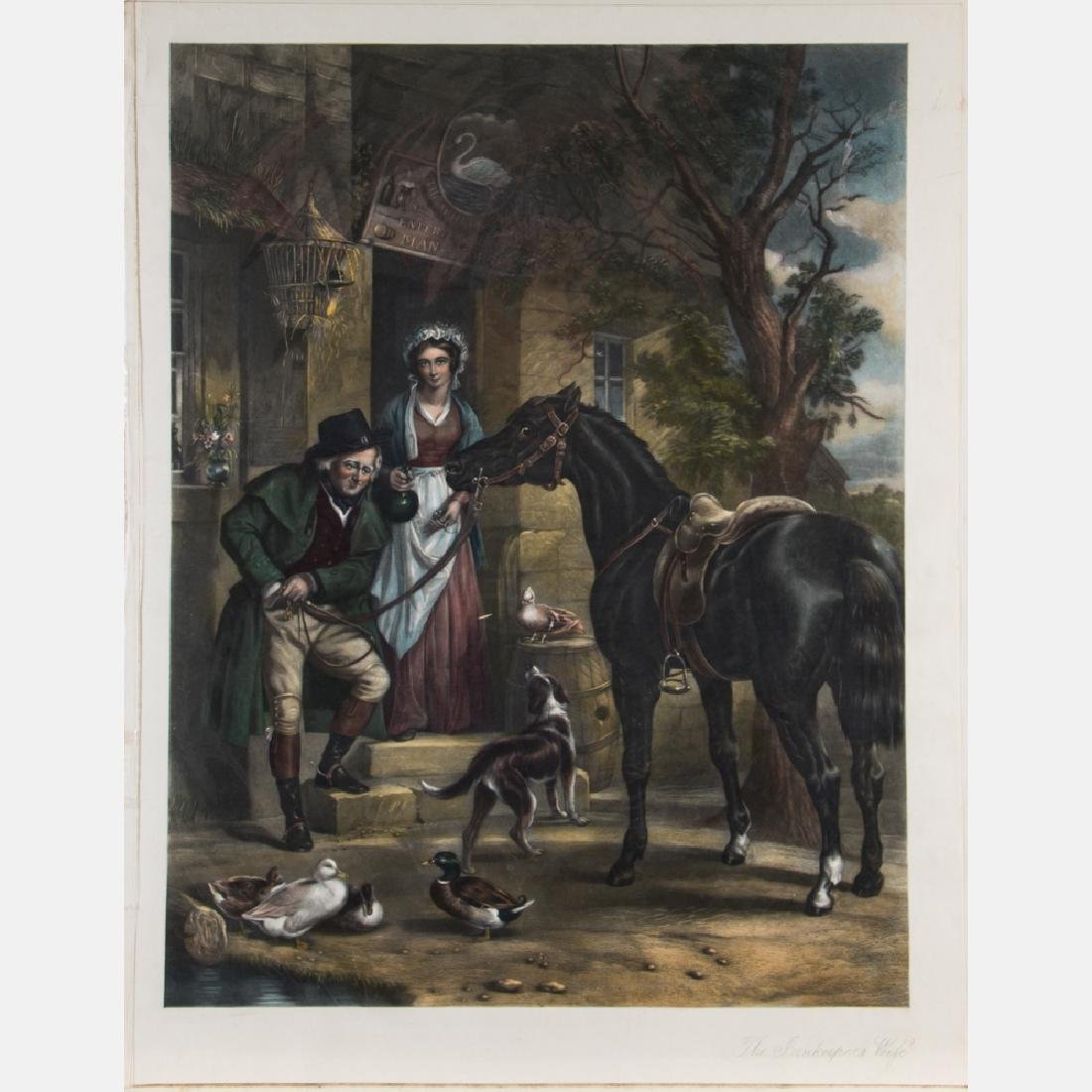 Artist Unknown (English, 19th Century) The Innkeeper's