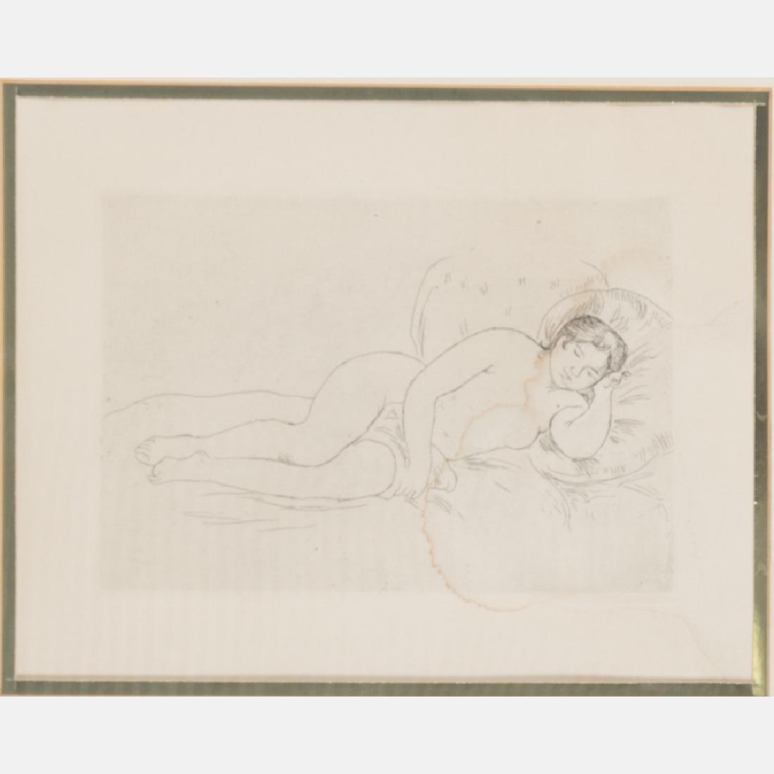 Pierre-Auguste Renoir (1841-1919) Femme nu Couche,