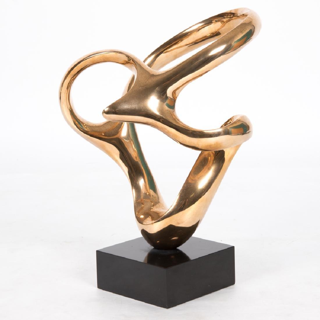 Antonio Grediaga Kieff (b. 1936) Cantares #5, Bronze,