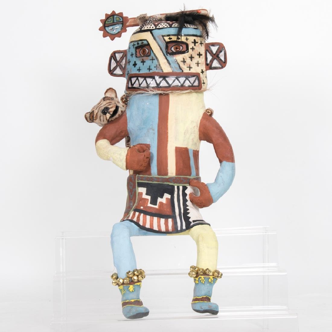 Molly Heizer (b. 1956) Hopi Whipper Kachina Doll,